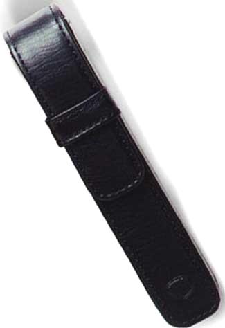 Aurora AU-P100/11 Кожаный футляр для одной ручки, Torino, цвет: черный
