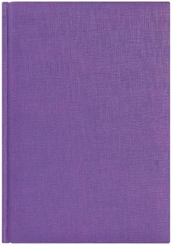 Avanzo Daziaro LXX65052-480 Eжедневник недатированный City Flax, 145х205 мм, фиолетовый