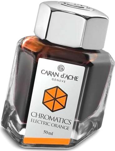 Caran d`Ache 8011.052 ������ � ���������� ��������� Chromatics, Electric Orange