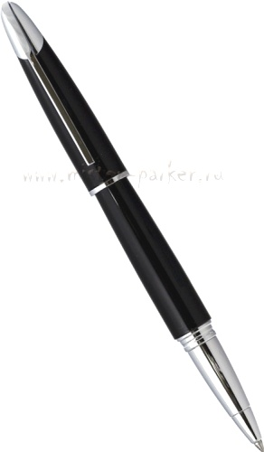 Подробнее о Ручка-роллер Colibri Equinox, Black lacquer / Polished Chrome Twist