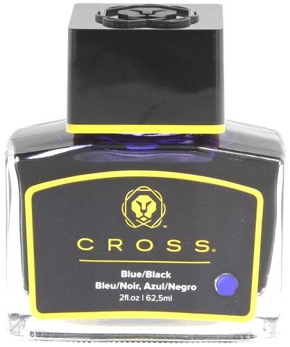 Cross 8945S-3 blue/black Флакон с синими чернилами для перьевых ручек