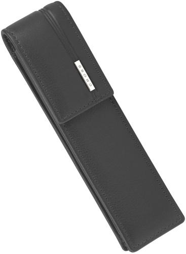 Cross AC260-1 Кожаный футляр для двух ручек, черный