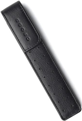 Cross AC222-1 Кожаный футляр для одной ручки, черный