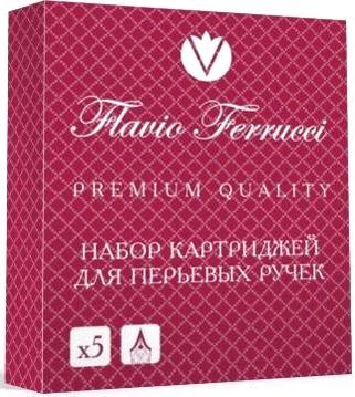 Flavio Ferrucci FF-IC0001 Картридж с черными чернилами для перьевой ручки