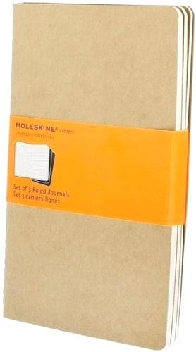 Moleskine QP416 Блокнот А5 Cahier (3 шт.), Бежевый