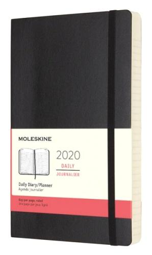 Moleskine DSB12DC3 Ежедневник датированный А5 Classic, Черный