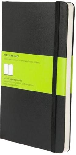 Moleskine QP062 Блокнот А5 Classic, Черный