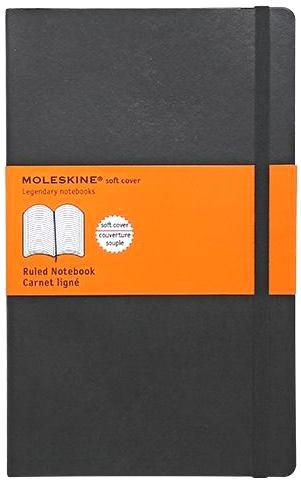 Moleskine QP616 Блокнот А5 Classic, Черный