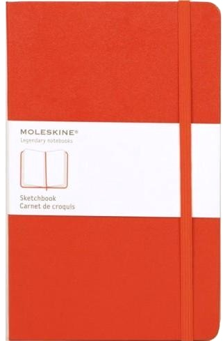 Moleskine QP060R Блокнот А5 Classic, Красный