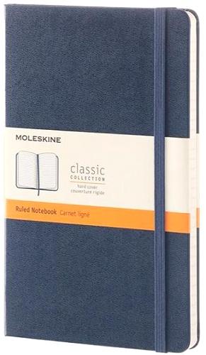 Moleskine QP060B20 Блокнот А5 Classic, Синий сапфир