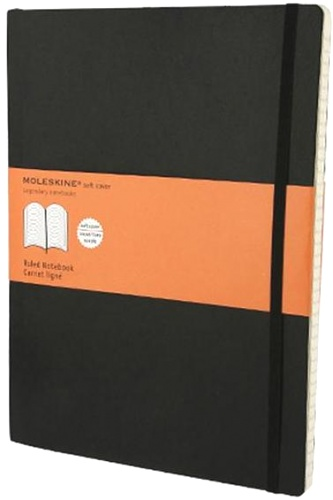 Moleskine QP321 Блокнот B5 Cahier (3 шт.), Черный