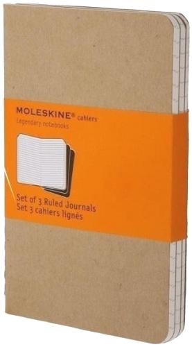 Moleskine QP411 Блокнот B7 Cahier (3 шт.), Бежевый