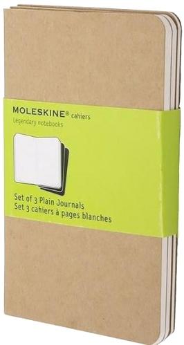 Moleskine QP413 Блокнот B7 Cahier (3 шт.), Бежевый