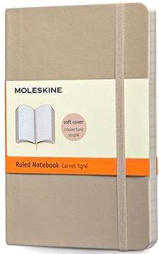 Moleskine QP611G4 Блокнот B7 Classic, Бежевый
