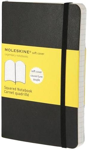 Moleskine QP612 Блокнот B7 Classic, Черный