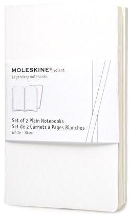 Moleskine QP713WH Блокнот B7 Volant (2 шт.), Белый