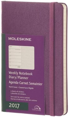Moleskine DHH1012WN2 Еженедельник датированный B7 Classic, Фиолетовый