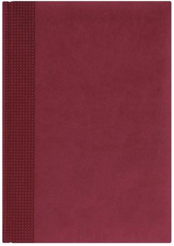Nazarenogabrielli 1705450220-421 Ежедневник датированный А5 Velvet, Бордовый