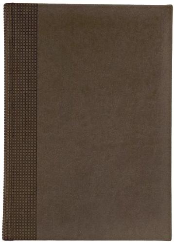 Nazarenogabrielli XX05451220-120 Ежедневник недатированный Velvet, коричневый