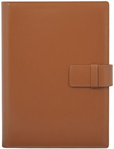 Nazarenogabrielli XX05452RM4CA31 Ежедневник-портфолио недатированный SOFIANO, коричневый