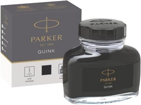 Parker 1950375 Флакон с черными чернилами для перьевых ручек , Bottle Quink Z13