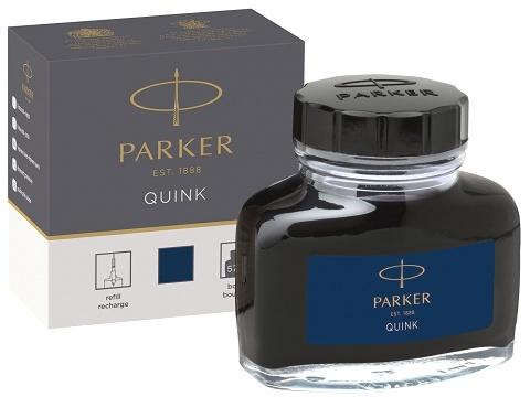 Parker 1950378 Флакон с сине-черными чернилами для перьевых ручек , Bottle Quink Z13