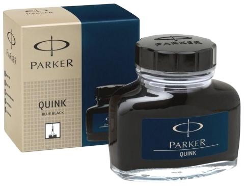 Parker S0037490 Флакон с сине-черными чернилами для перьевых ручек Quink, Z13