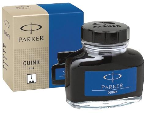 Parker S0037470 Флакон с синими чернилами для перьевых ручек Quink, Z13