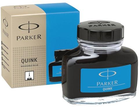 Parker 700304/01 Флакон с смываемыми синими (Washable Blue) чернилами для перьевых ручек Quink, Z13