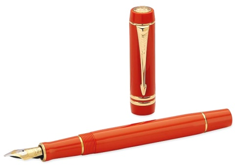 ��������� � �������� ����� Parker Duofold Historical Colors Centennial F77, Big Red GT (���� M)