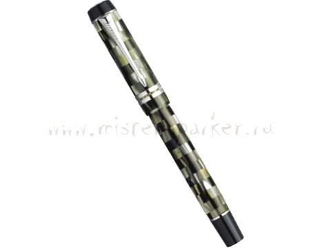 Подробнее о Ручка-роллер Parker Duofold Check Olive T108, Green PT