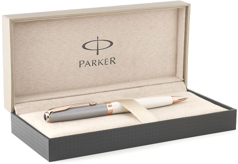 Подробнее о Шариковая ручка Parker Sonnet K533 Special Edition 2015 Subtle, Pearl and Grey