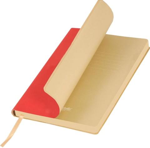 Portobello Trend LXX1501254-060 Ежедневник недатированный Nazarenogabrielli Latte, красный / бежевый