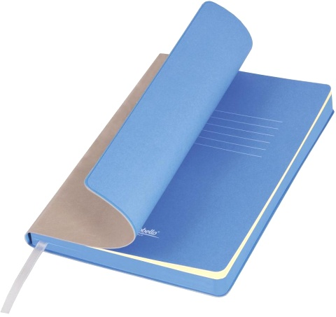 Portobello Trend LXX1501256-525 Ежедневник недатированный Nazarenogabrielli River side, 145х210 мм, бежевый / голубой