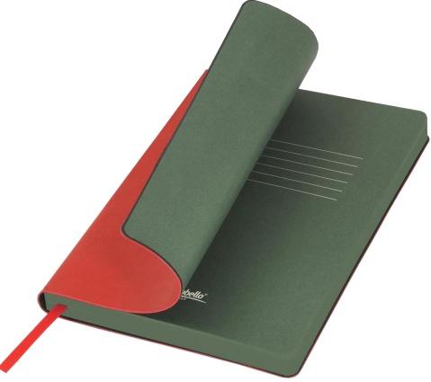 Portobello Trend LXX1501256-060 Ежедневник недатированный Nazarenogabrielli River side, 145х210 мм, красный / зеленый