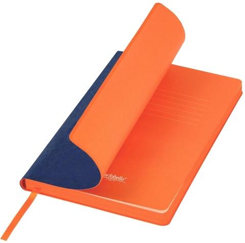 Portobello Trend LXX1501256-030 Ежедневник недатированный Nazarenogabrielli River side, 145х210 мм, синий / оранжевый