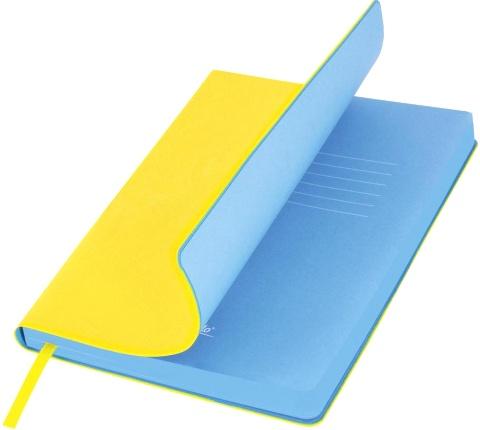 Portobello Trend LXX1501256-075 Ежедневник недатированный Nazarenogabrielli River side, 145х210 мм, желтый / голубой
