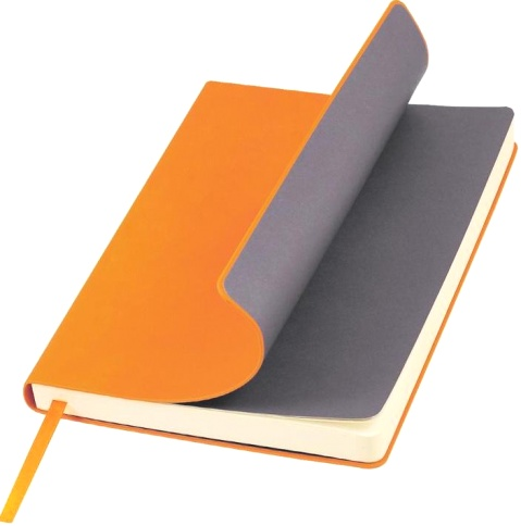 Portobello Trend LXX1401141-070/1 Ежедневник недатированный Nazarenogabrielli Sky, 145х210 мм, оранжевый
