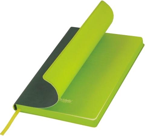 Portobello Trend LXX1501254-040/1 Ежедневник недатированный Latte, Зеленый / Лимонный