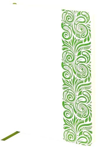 Portobello Trend LXX1501155-HOHLOMA Ежедневник недатированный, , Russia, белый / зеленый