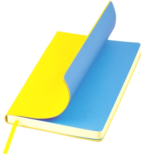 Portobello Trend LXX1402141-075 Еженедельник недатированный Nazarenogabrielli Sky, 145х210 мм, желтый