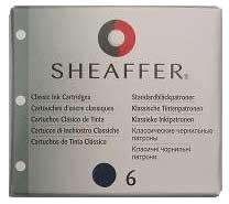 Sheaffer SH 96213 Картриджи с черно-синими чернилами 6 штук для перьевой ручки