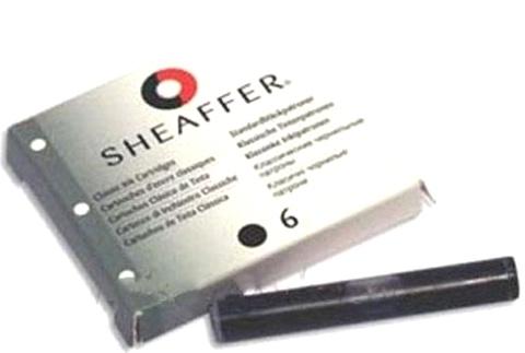 Sheaffer SA96233 Картриджи с черными чернилами 6 штук для перьевой ручки
