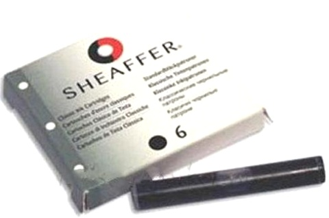 Sheaffer SA96233-8 Картриджи с черными чернилами 8 штук для перьевой ручки