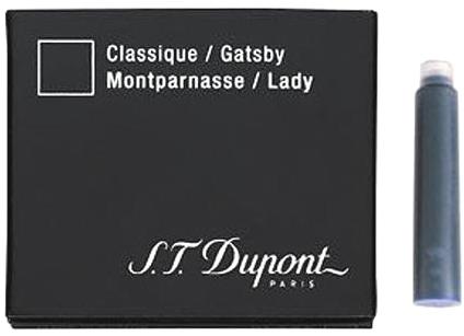 S.T.Dupont 40101 Картридж с темно-синими чернилами для перьевых ручек