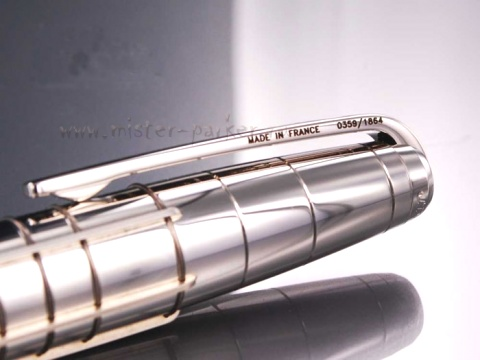 ��������� � ����� ��������� Ligne French Line S.T.Dupont, Black / Silver