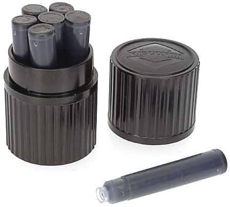 Visconti Vs-A52-02 Картриджи с черными чернилами для перьевых ручек