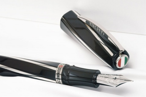 Подробнее о Перьевая ручка Divina G8 Summit Visconti Limited Edition, Black ST (Перо M)