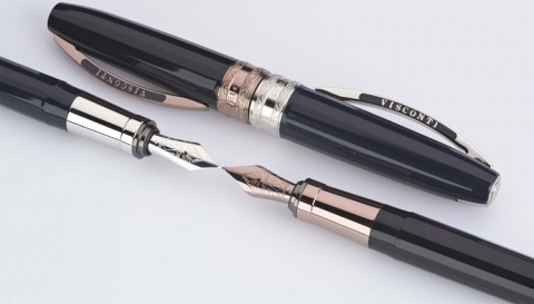 ��������� � �������� ����� Visconti Michelangelo, Blue-Black PT (���� M)