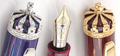 Подробнее о Перьевая ручка Visconti Queen Elizabeth Diamond Jubilee Limited Edition, Ruby GT (Перо F)